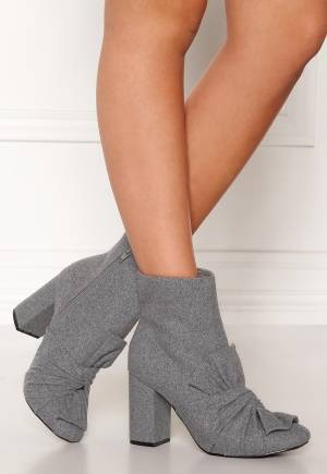 LOST INK Daisy Bow Ankel Boots Grey 39