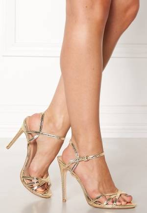 New Look Scope PU Strappy Sandal Gold 37 (UK4)