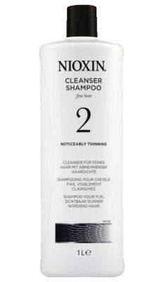 Nioxin System 2 Cleanser 1000 ml  One Size