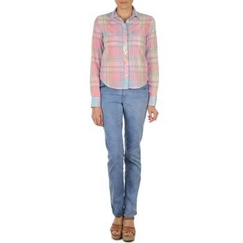 Gant Suorat farkut DANA SPRAY COLORED DENIM PANTS