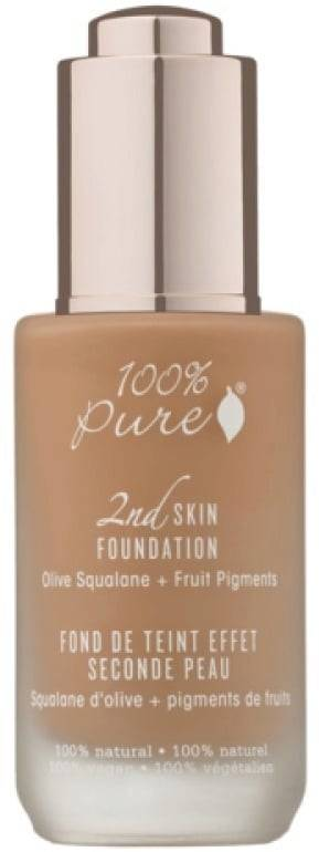 Pure 2nd Skin Foundation -pohjustus - Toffee (tan)