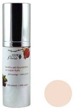 Pure Healthy Skin Foundation with Super Fruits SPF 20 -pohjustus - Creme (fair)
