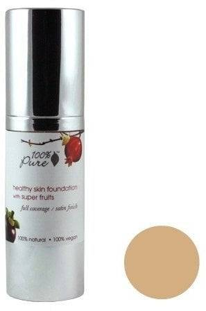 Pure Healthy Skin Foundation with Super Fruits SPF 20 -pohjustus - Golden Peach (deep medium)