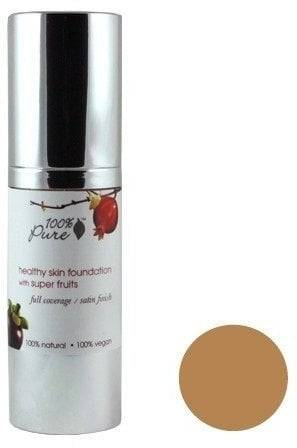 Pure Healthy Skin Foundation with Super Fruits SPF 20 -pohjustus - Toffee (tan)