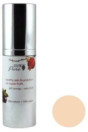 Pure Healthy Skin Foundation with Super Fruits SPF 20 -pohjustus - White Peach (light)
