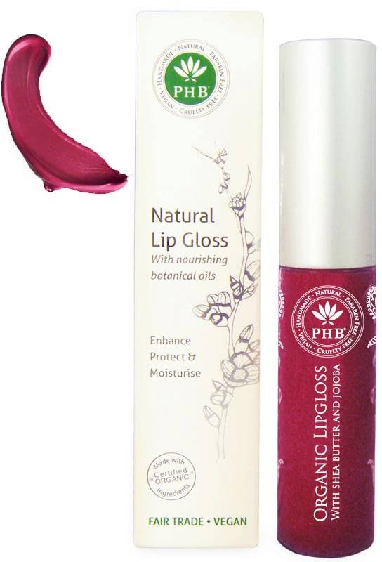 PHB Ethical Beauty Mineral Miracles Organic Lipgloss - Rose Violet