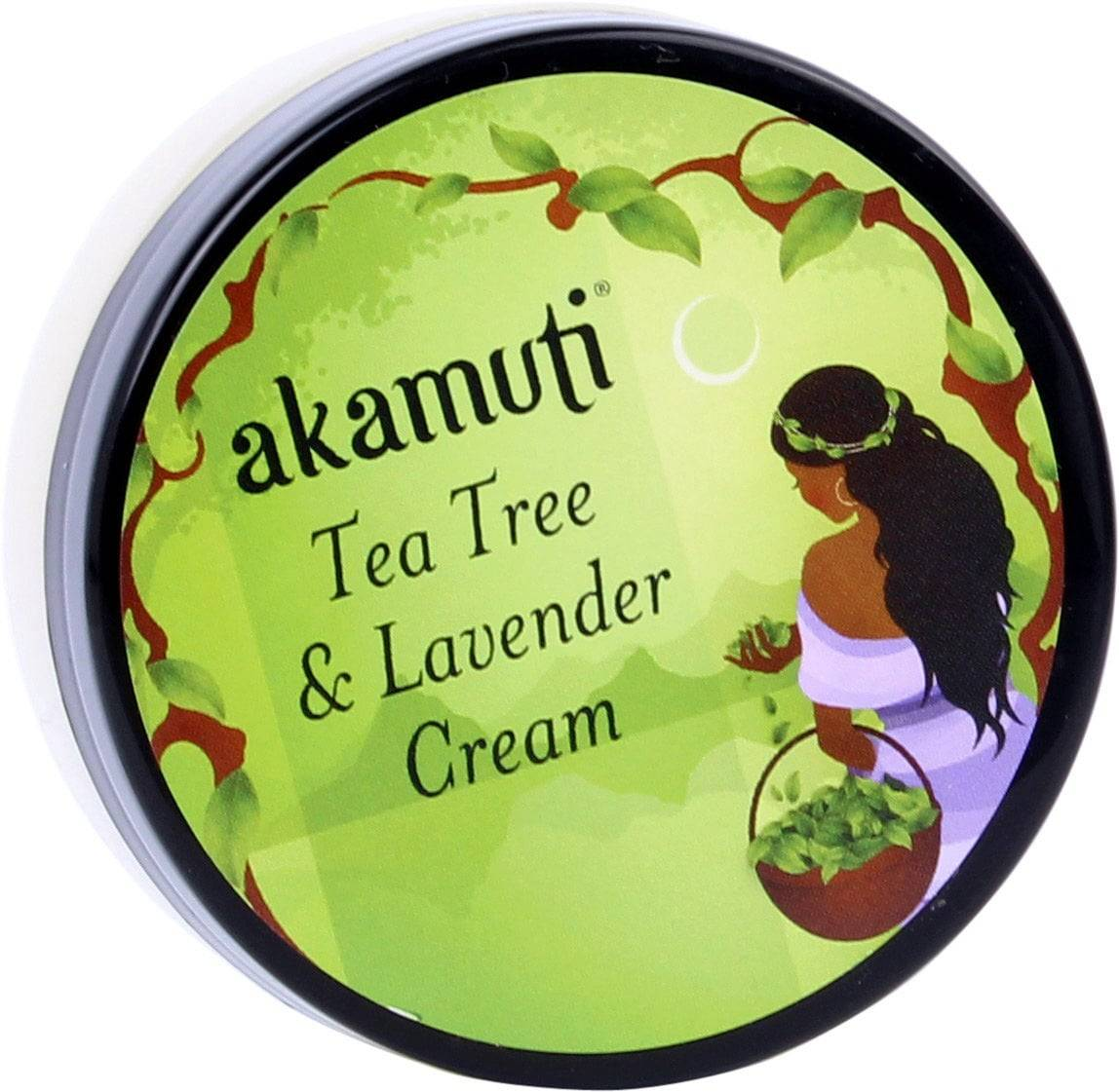 Akamuti Tea Tree Rescue Cream with Lavender -viilentävä voide - 50 ml