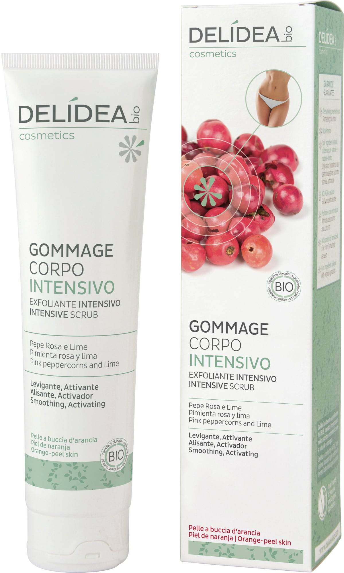 Delidea Pink Pepper & Lime tehokuorinta - 150 ml