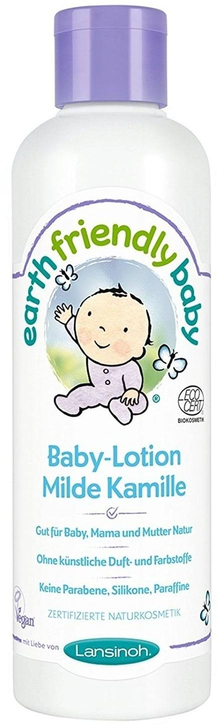 Earth Friendly Baby Vauvan hoitolotion mieto kamomilla - 250 ml