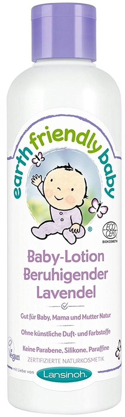 Earth Friendly Baby Vauvan lotion rauhoittava laventeli - 250 ml
