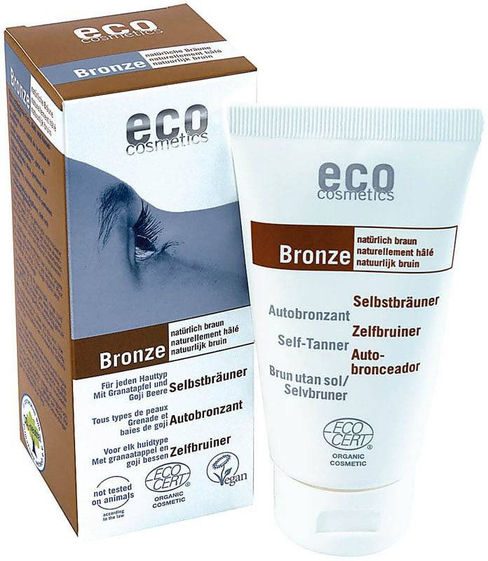 eco cosmetics Bronze itseruskettava voide - 75 ml