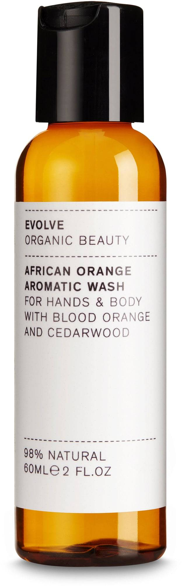 Evolve Organic Beauty African Orange Aromatic nestesaippua - 60 ml