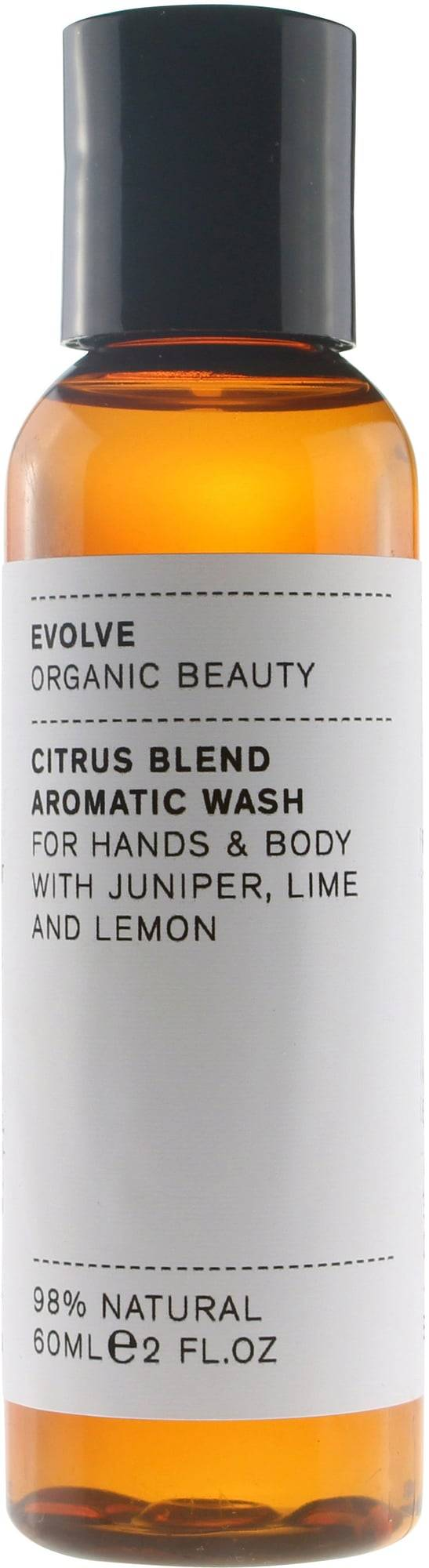 Evolve Organic Beauty Citrus Blend Aromatic nestesaippua - 60 ml