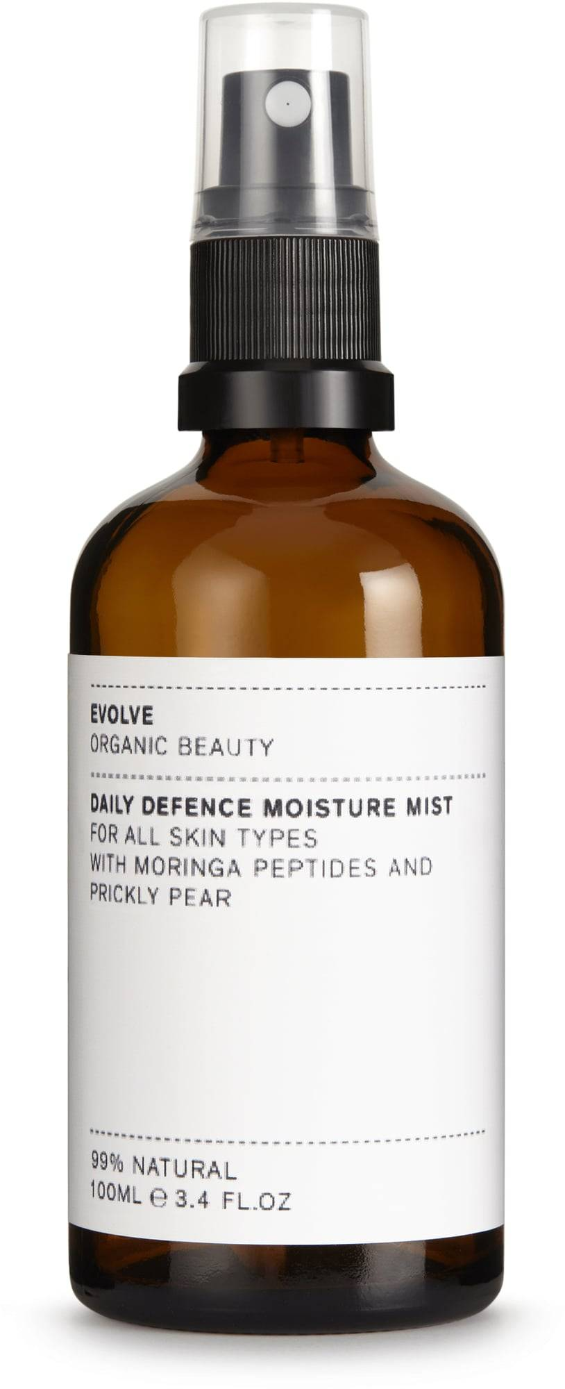 Evolve Organic Beauty Daily Defence Moisture Mist -kasvovesisuihke - 100 ml