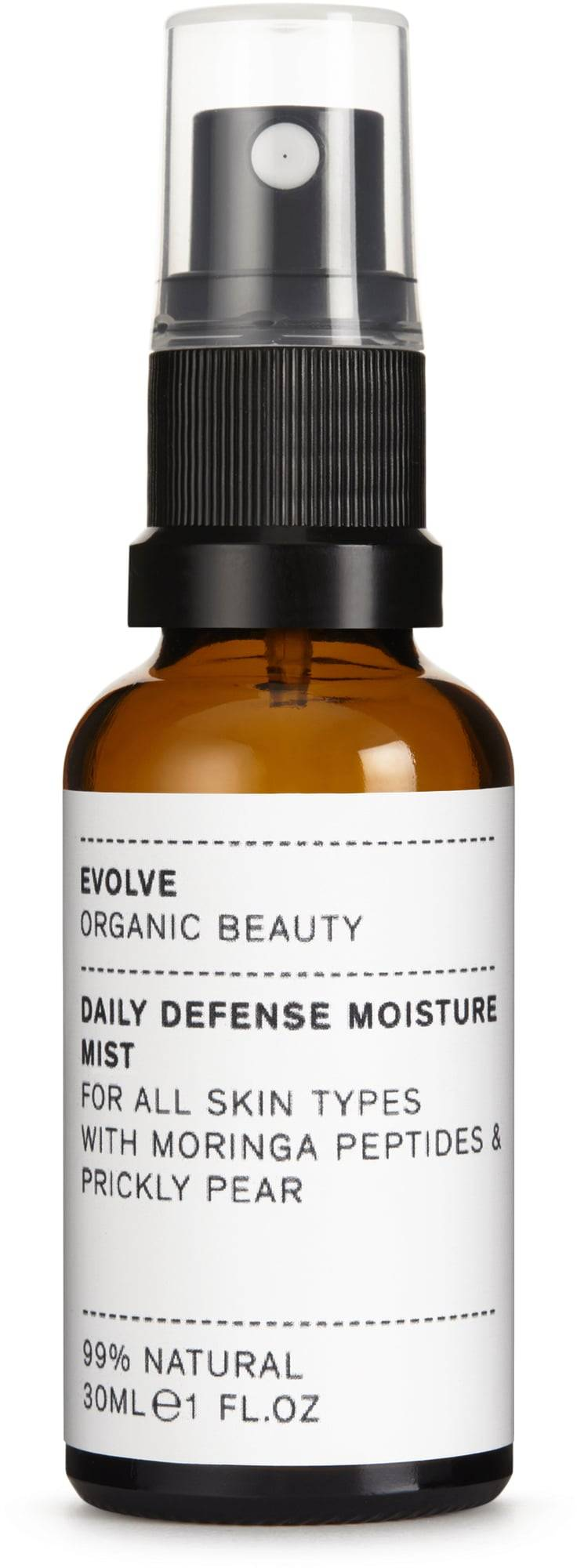 Evolve Organic Beauty Daily Defence Moisture Mist -kasvovesisuihke - 30 ml