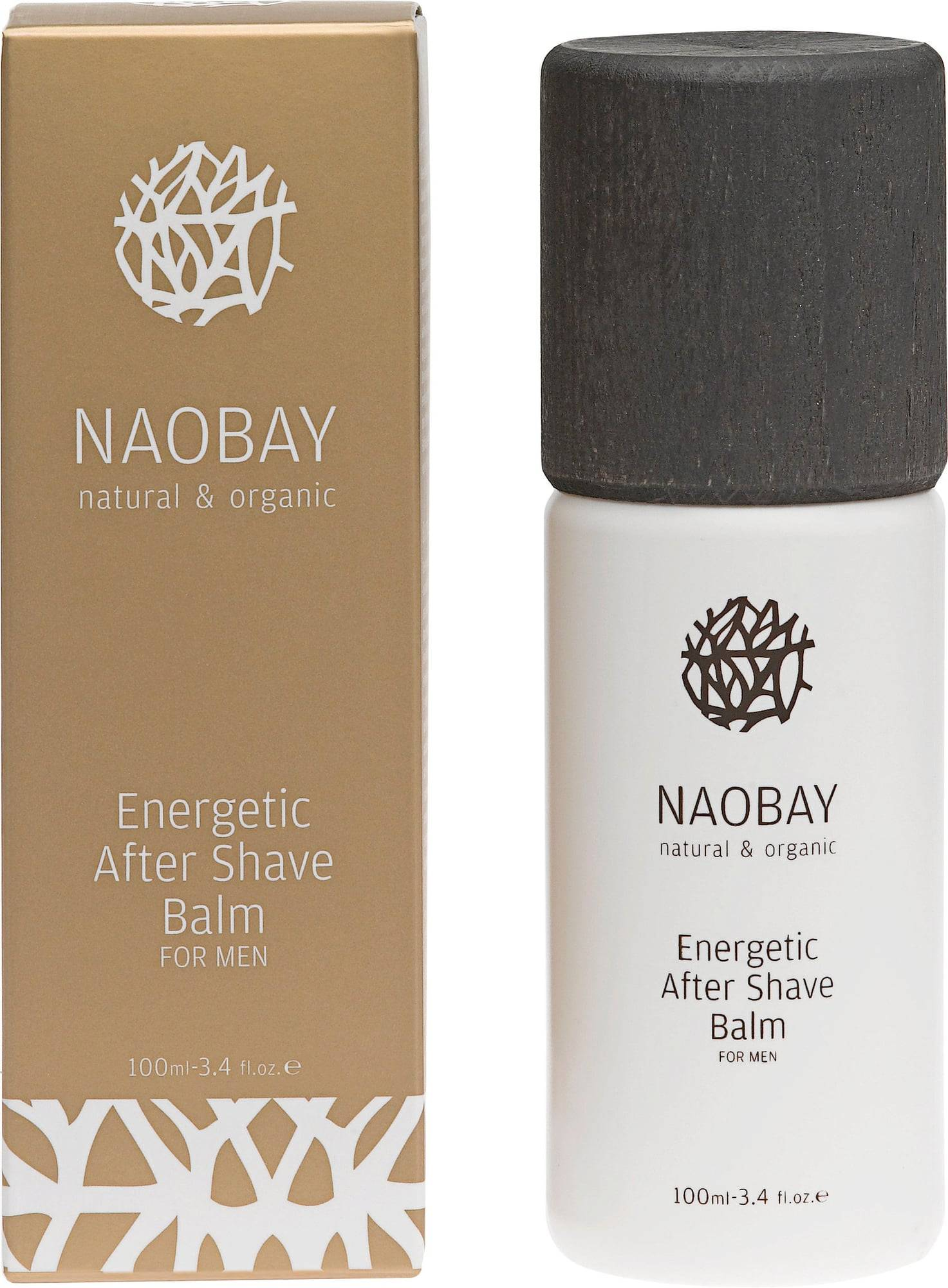 NAOBAY Energetic After Shave Balm For Men - 100 ml