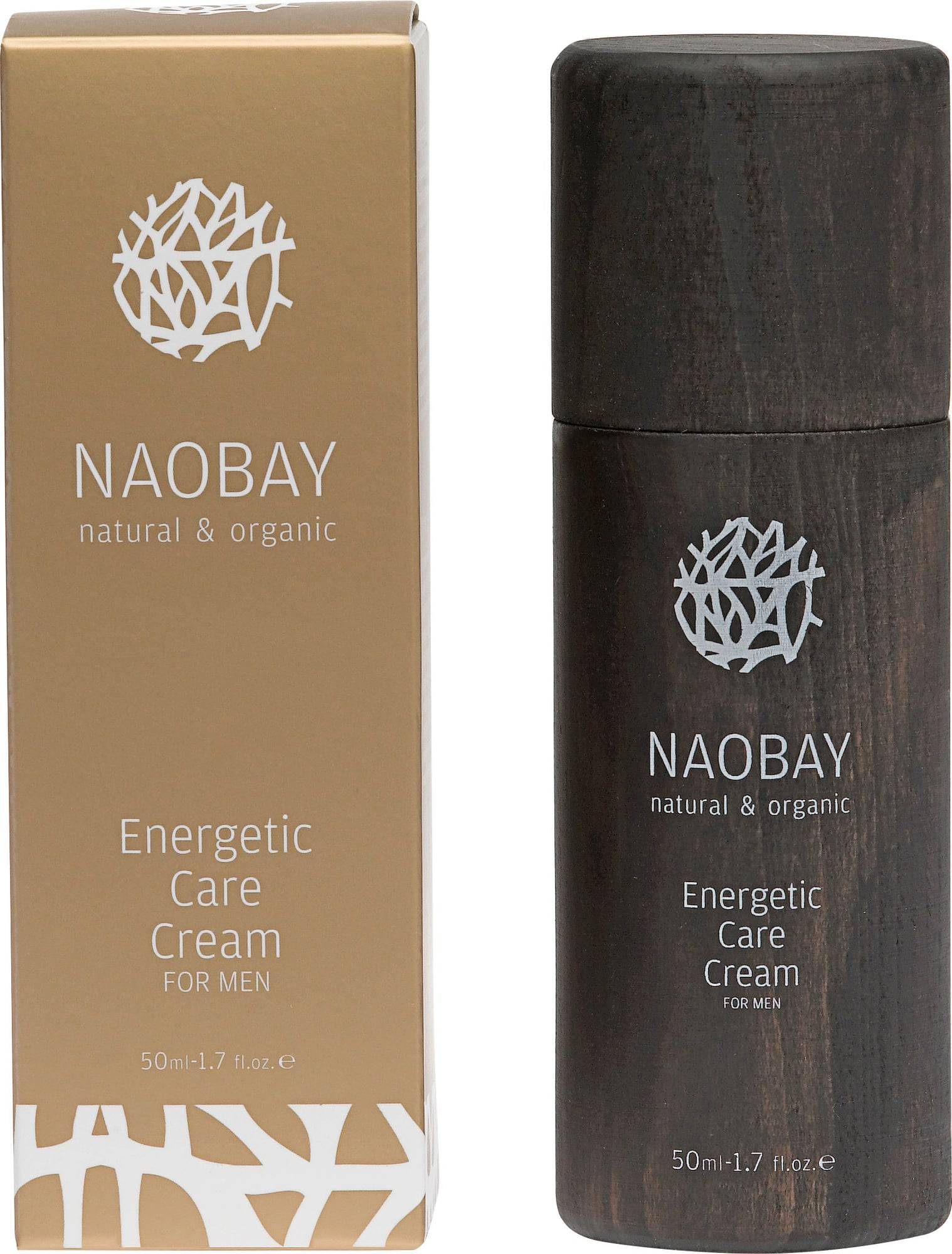 NAOBAY Energetic Care Cream For Men - 50 ml