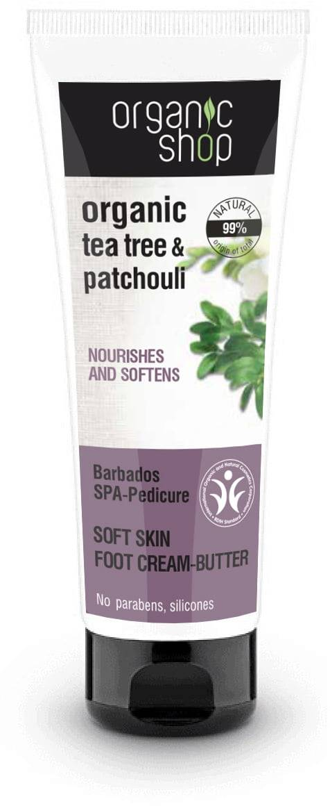 Organic Shop Barbados SPA-Pedicure Soft Skin jalkavoide - 75 ml