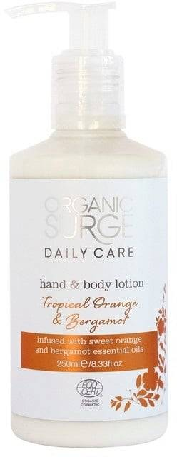Organic Surge Tropical Orange & Bergamot käsi- & vartalolotion - 250 ml
