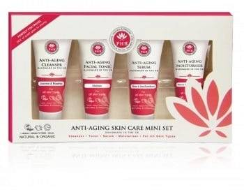 PHB Ethical Beauty Anti-aging Skin Care Travel Kit - 1 kpl