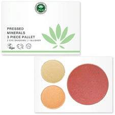 PHB Ethical Beauty Pressed Mineral 3 Piece Pallet - Nudes