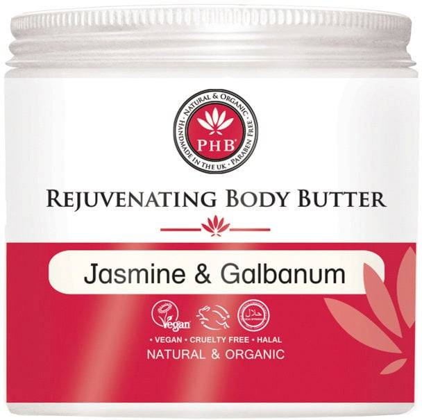 PHB Ethical Beauty Rejuvenating Body Butter with Jasmine & Galbanum - 250 ml