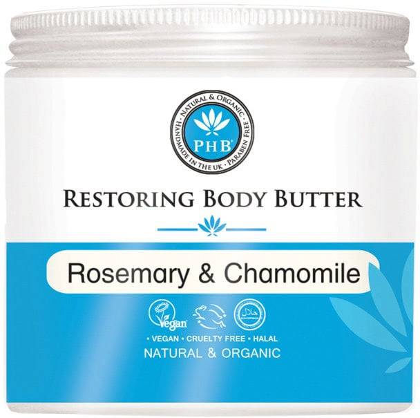 PHB Ethical Beauty Restoring Body Butter with Rosemary & Chamomile - 250 ml