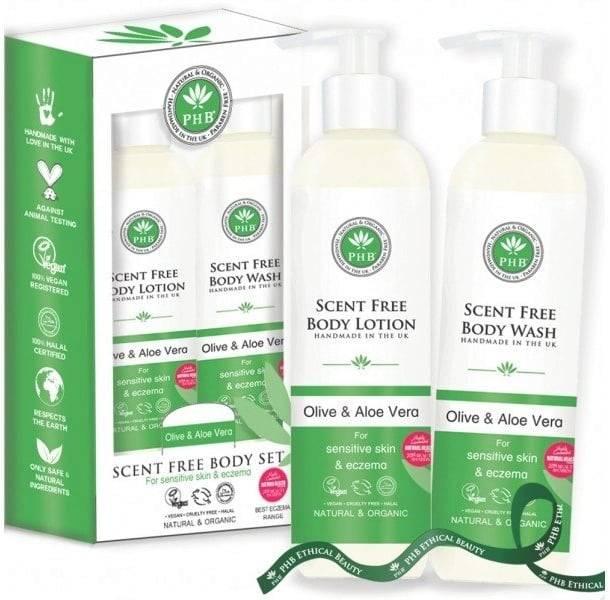 PHB Ethical Beauty Scent-Free Body Care Duo - 1 kpl