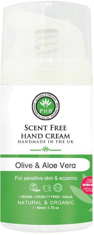 PHB Ethical Beauty Scent Free Hand Cream  - 50 ml
