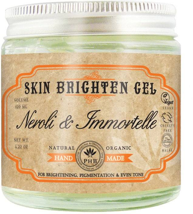 PHB Ethical Beauty Skin Brighten Gel with Neroli & Immortelle - 120 ml