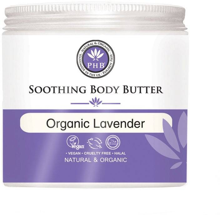 PHB Ethical Beauty Soothing Body Butter Organic Lavender - 250 ml