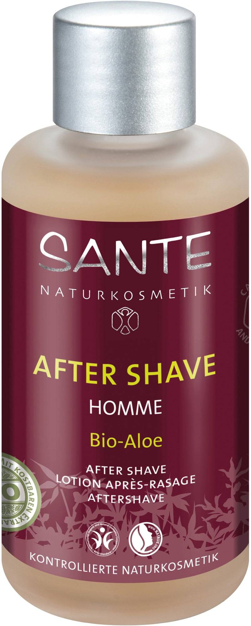 Sante Homme luomu Aloe After Shave - 100 ml