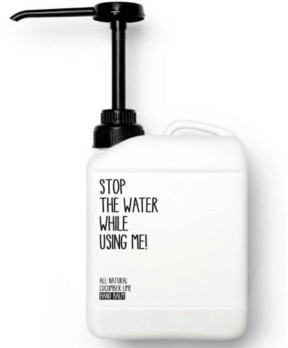 Stop The Water While Using Me! All Natural Cucumber Lime Hand Balm - 2 l