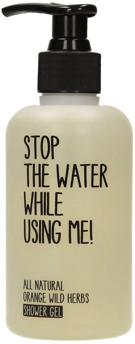 Stop The Water While Using Me! All Natural Orange Wild Herbs Shower Gel - 200 ml