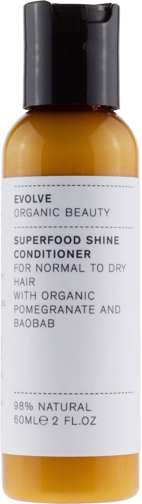 Evolve Organic Beauty Superfood Shine hiustenhoitoaine - 60 ml