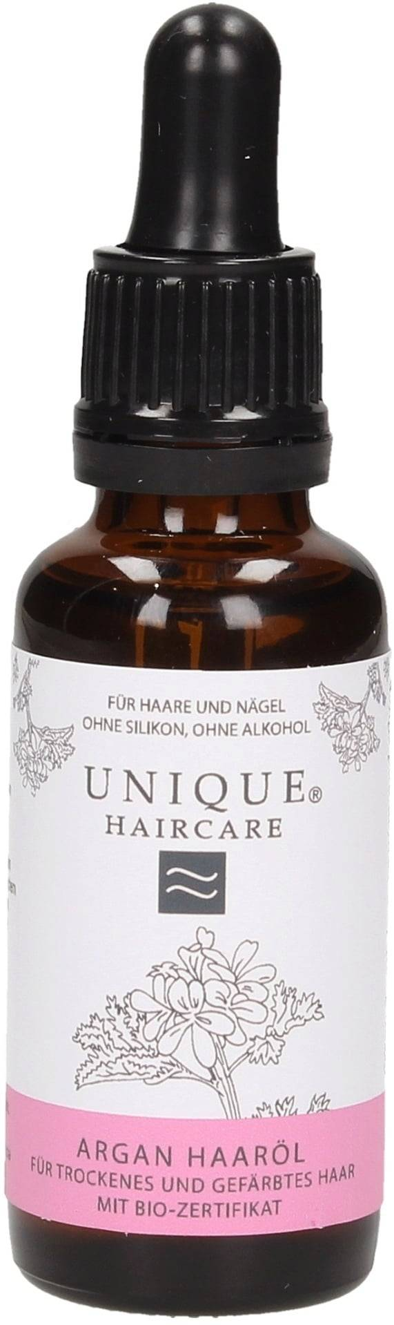Unique Beauty Argaaniöljy hiuksille - 30 ml