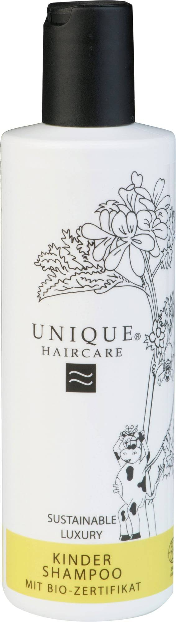 Unique Beauty Hajusteeton shampoo lapsille - 250 ml