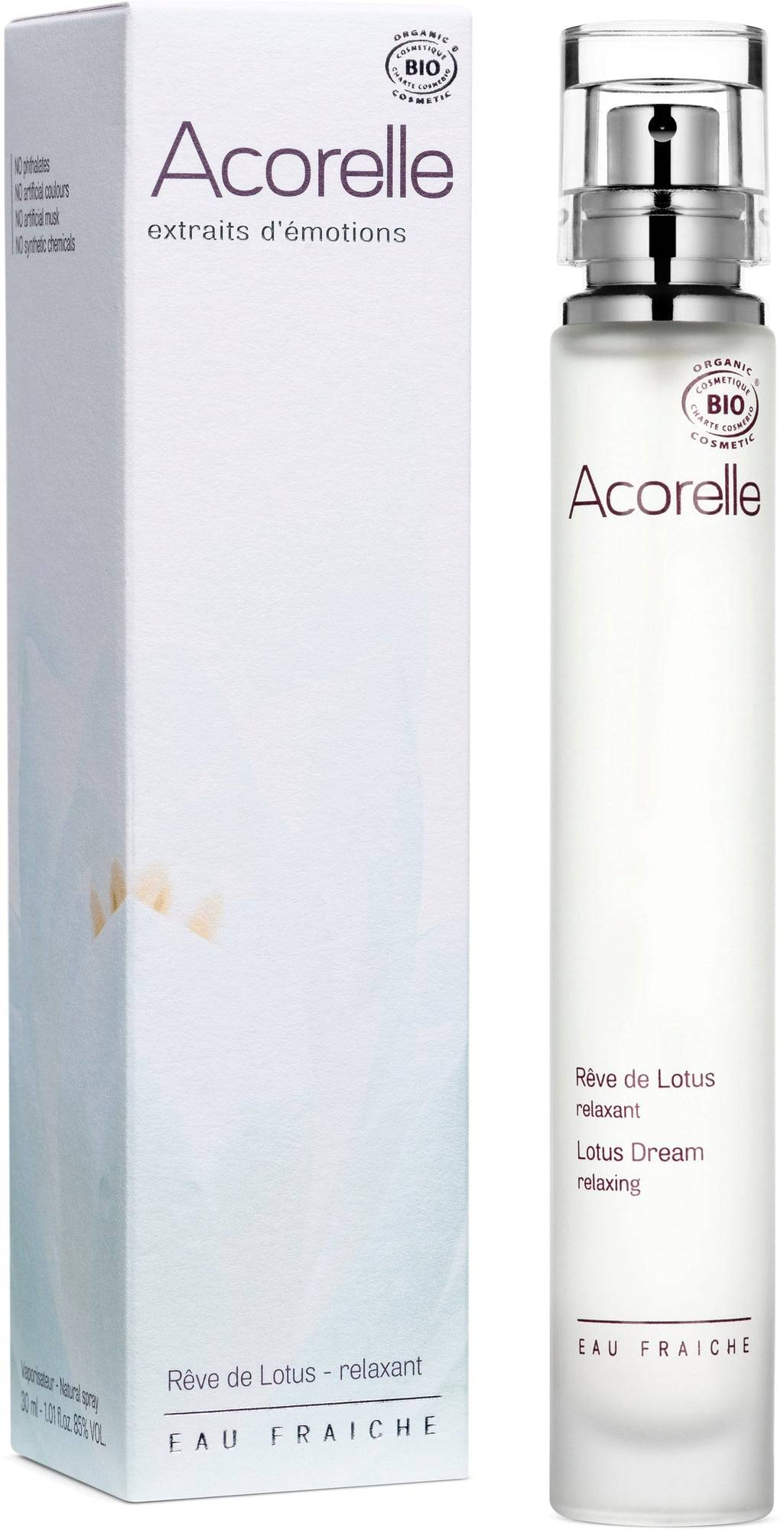 Acorelle Bio Eau Fraiche Lotus Dream -tuoksu - 30 ml
