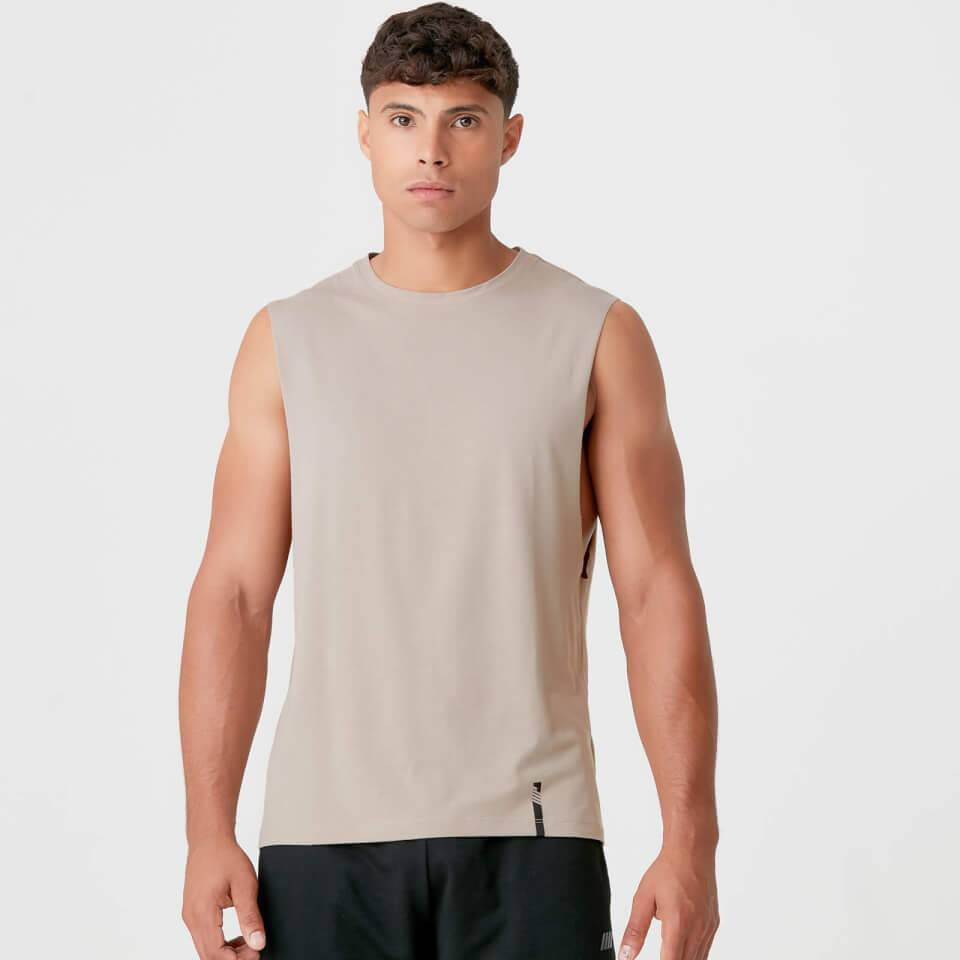 Myprotein Luxe Classic Drop Tank - M - Taupe