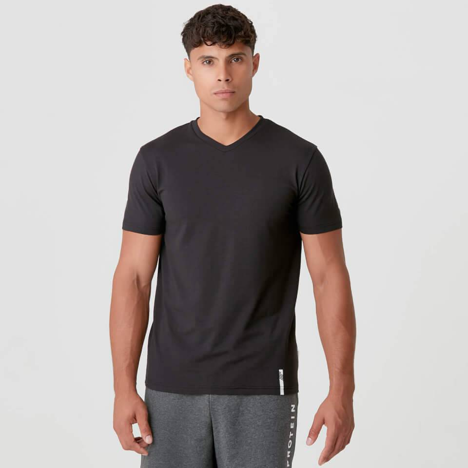Myprotein Luxe Classic V-Neck - XS - Musta