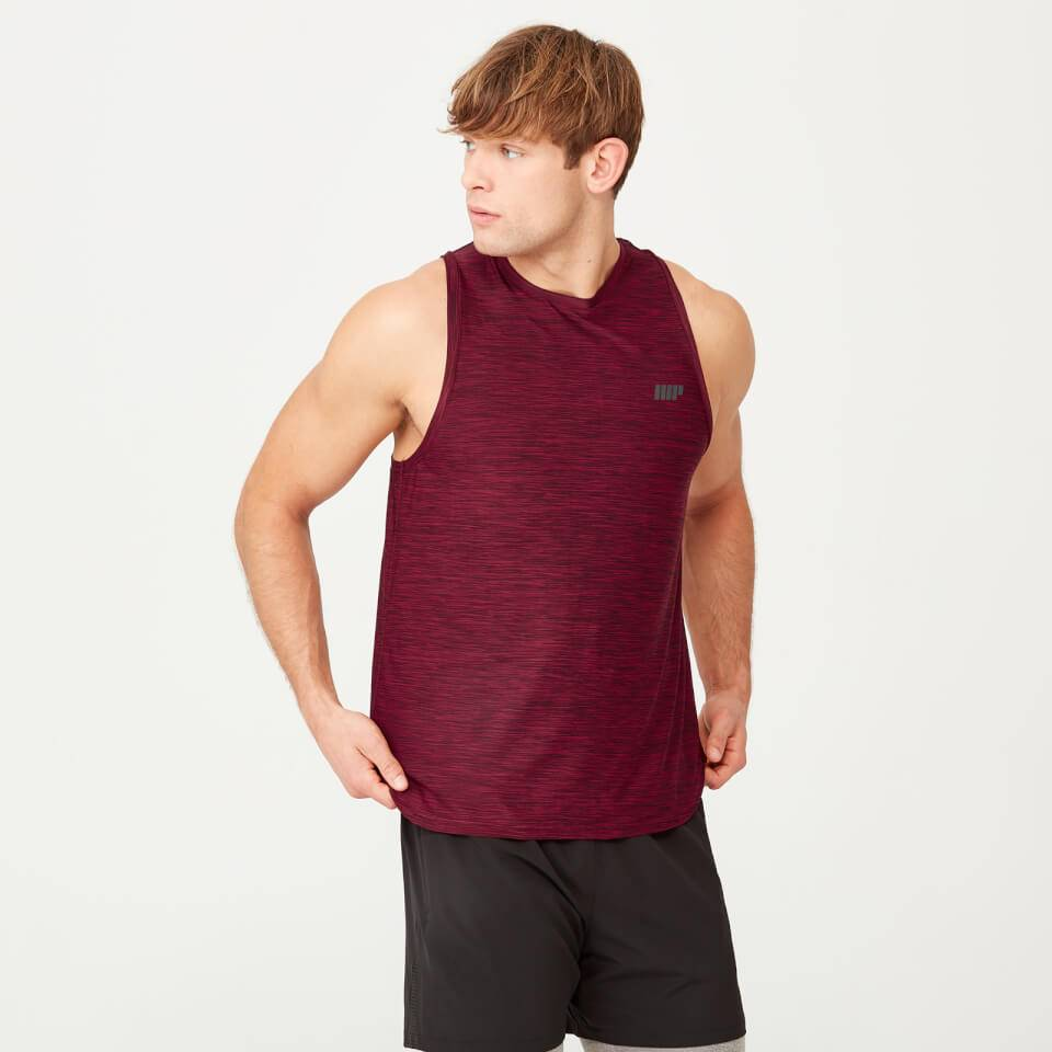 Myprotein Dry-Tech Infinity Tank - S - Red Marl