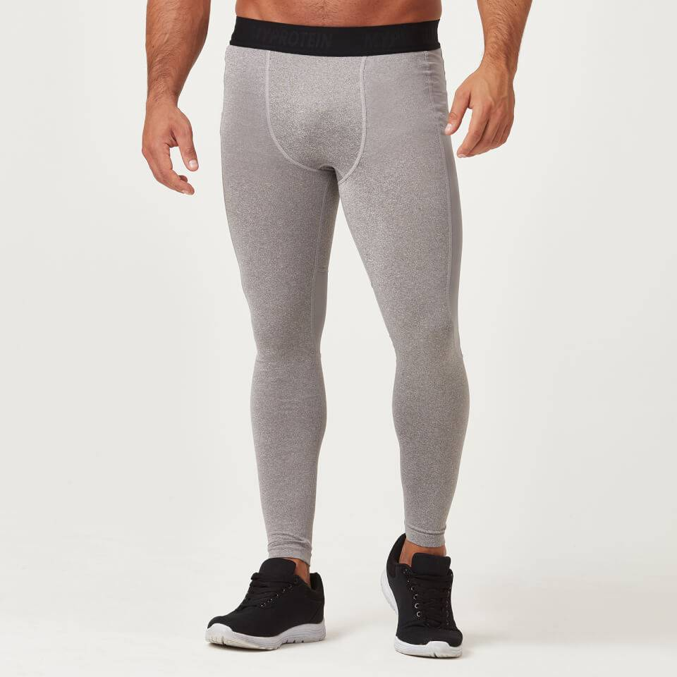 Myprotein Charge Compression Tights - S - Harmaa