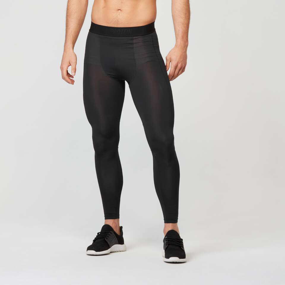 Myprotein Charge Compression Tights - S - Musta