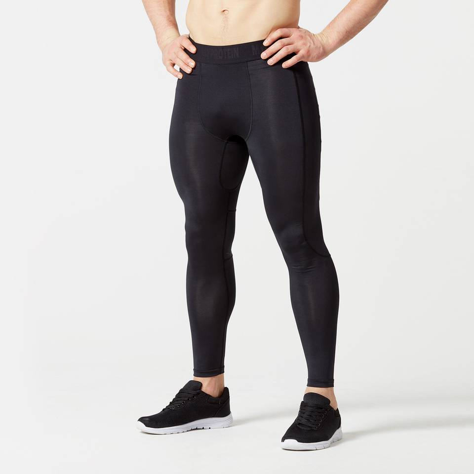 Myprotein Charge Compression Tights - XL - Musta