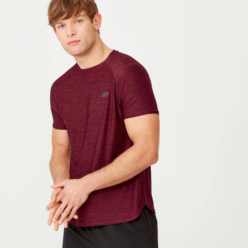 Myprotein Dry-Tech Infinity T-Shirt - S - Red Marl