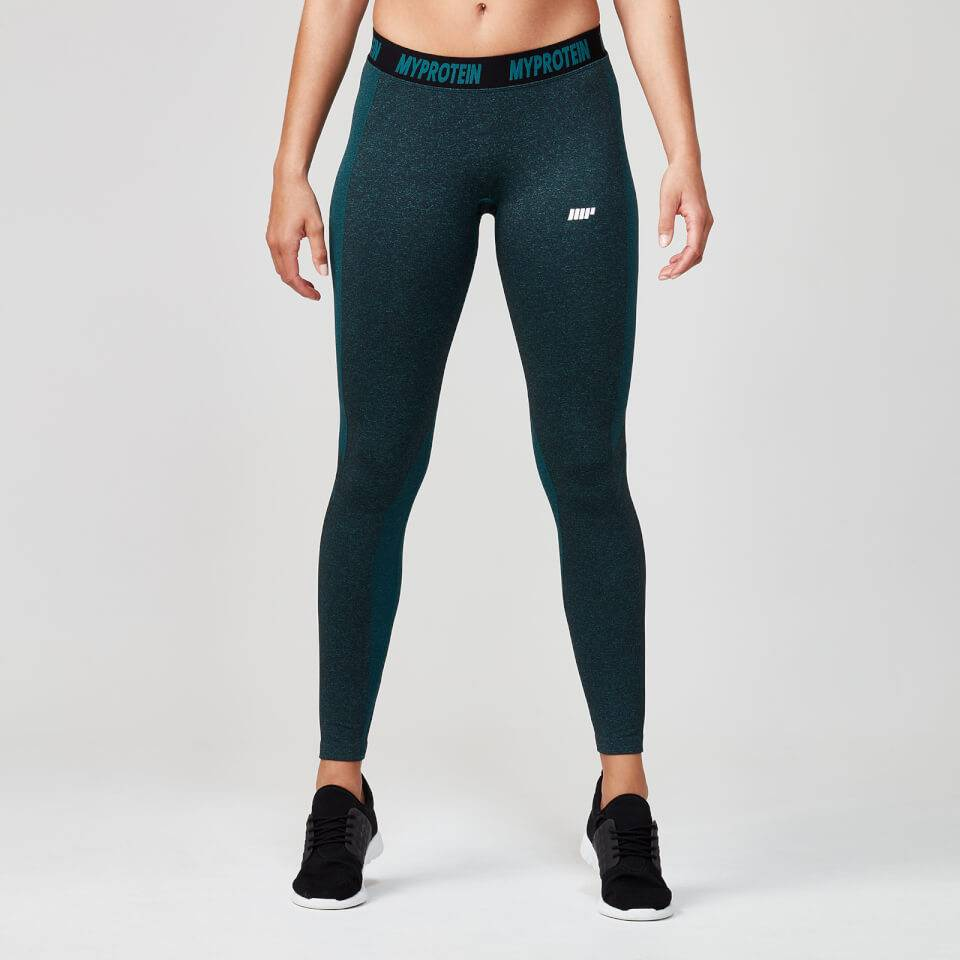 Myprotein Seamless Leggings - M - Marble Green