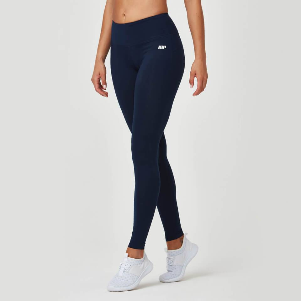 Myprotein Heartbeat Classic Leggings - XL - Navy