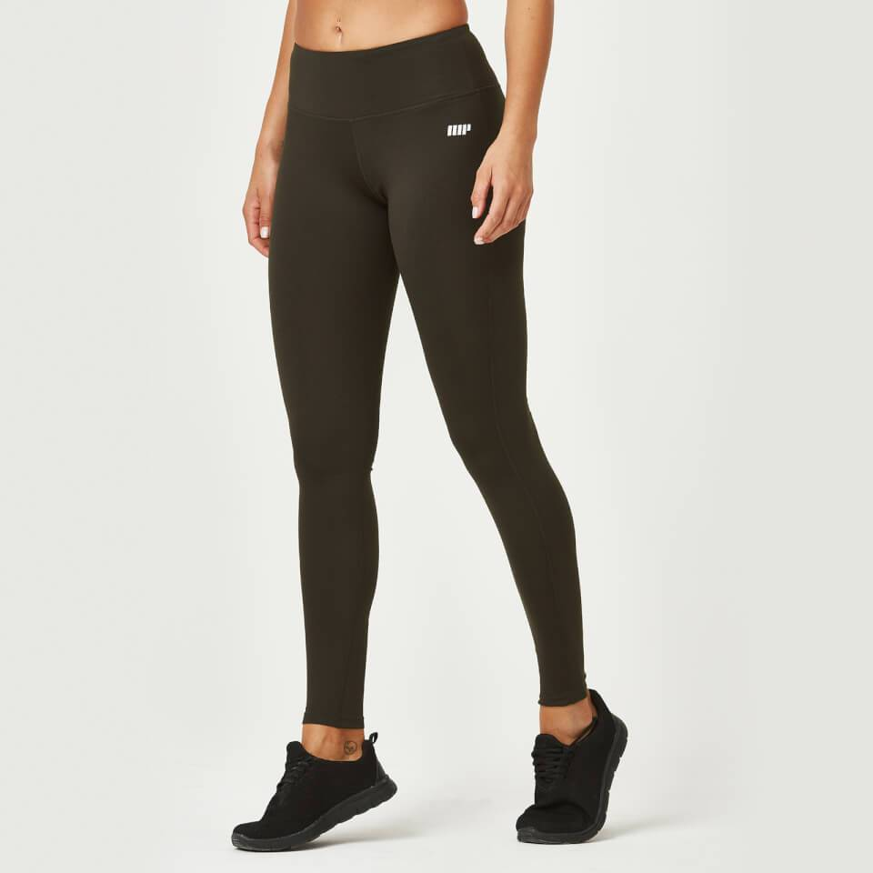 Myprotein Heartbeat Classic Leggings - XL - Dark Khaki