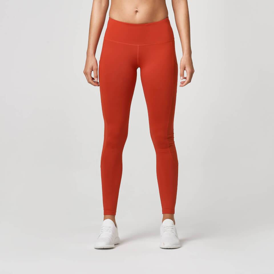 Myprotein Beat Leggings - XS - Clay Red