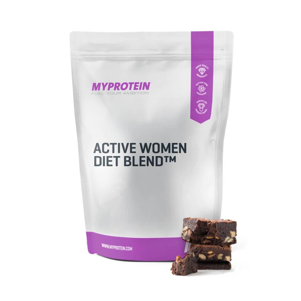 Myprotein Active Woman Diet Blend™ - 2.5kg - Pussi - Chocolate Fudge Brownie